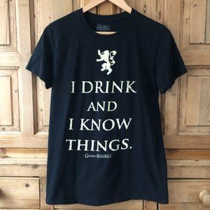 Game of Thrones I Drink and I Know Things Small